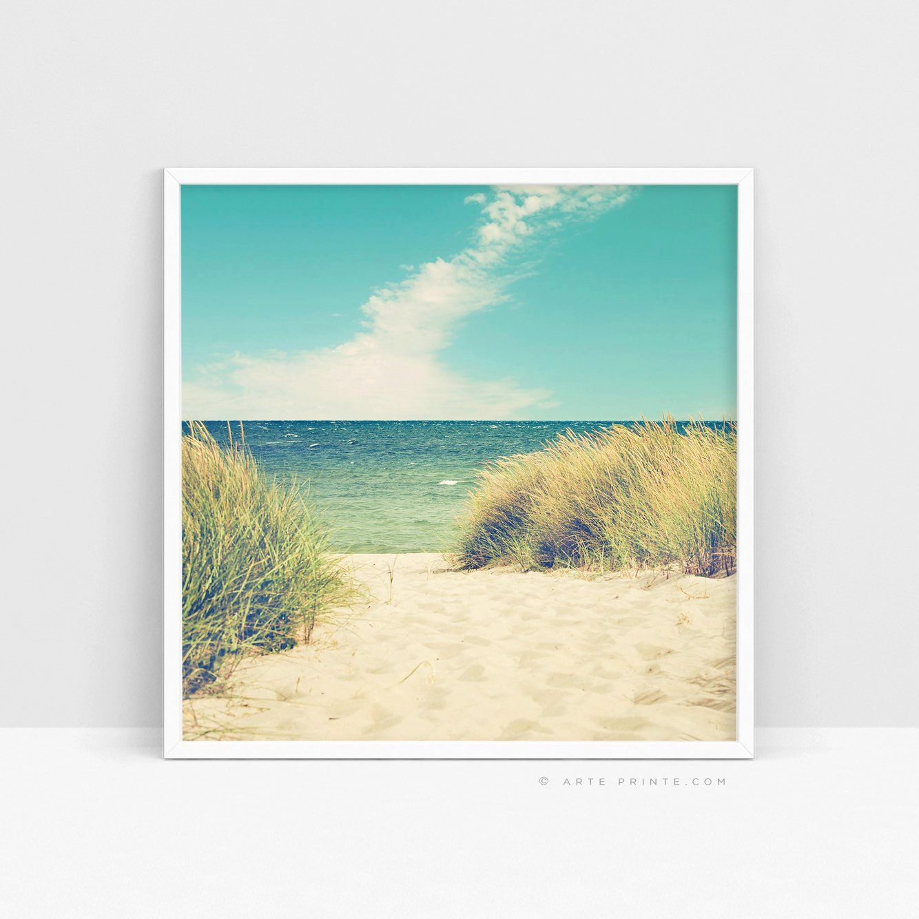 Seaside Print Coastal Dunes Print Coastal Beach Wall Decor