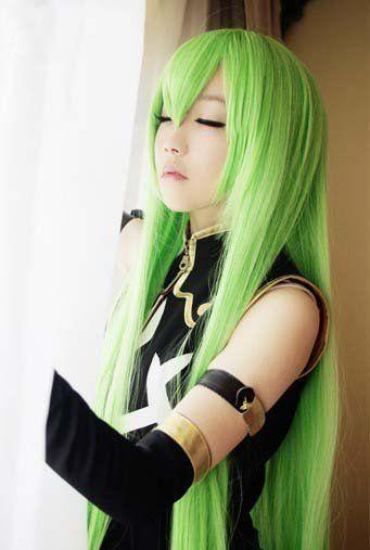 tf u2468 u203b11 cosplay long straight hair 100cm anime animation art wig party wigs
