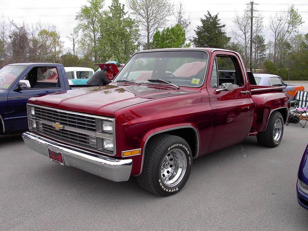 Truck chevy 1985 truck : 1985 CHEVROLET PICKUP   Chevrolet and Cars
