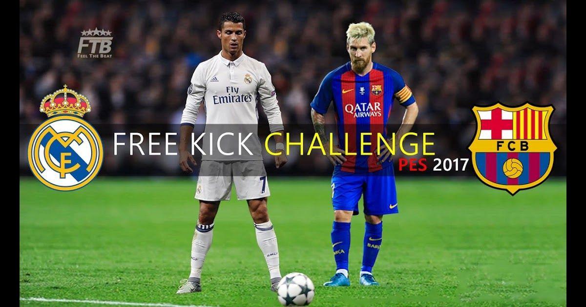 Messi Kicking Ronaldo