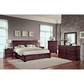 Costco Hudson 6 Piece Queen Storage Bedroom Set Bedroom