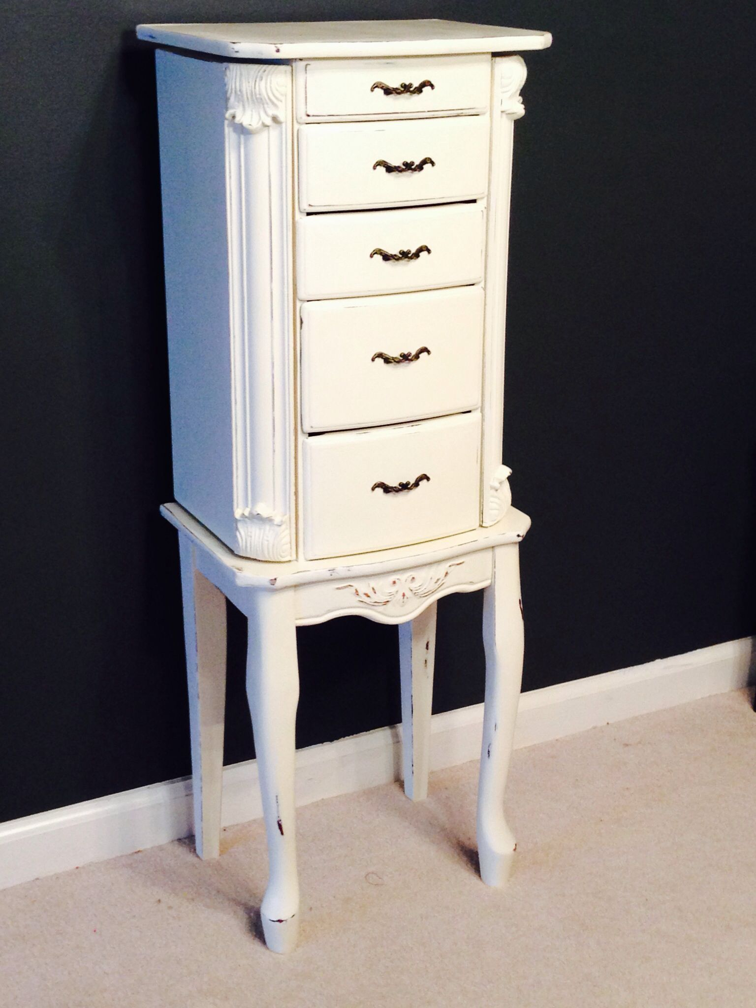 Annie Sloan Chalk Paint-cheap Walmart jewelry armoire ...