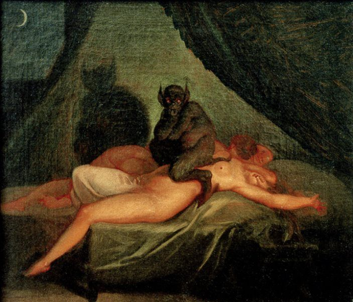 Demonios Y Mujer Desnuda Hellions Art Demonology Incubus Demon