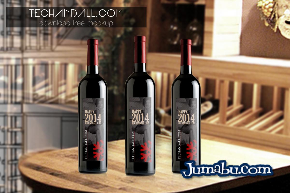 Download Mock Up De Botellas De Vino En Photoshop Jumabu Design Tools Vectorizados Iconos Vectores Textu Wine Bottle Wine Bottle Packaging Wine Bottle Design