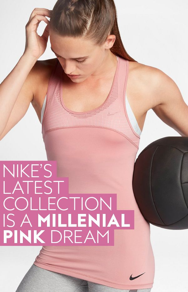 1e0cc0262230a Nike s Chrome Blush Collection Is Peak Millennial Pink