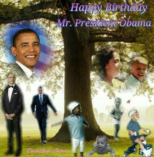 President Obama Birthday