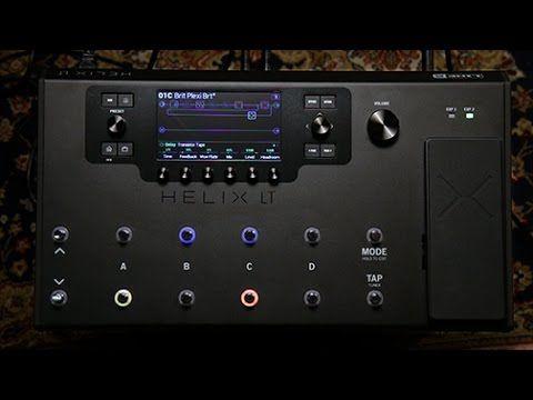 Line 6 Helix Lt Guitar Processor Line 6 Helix Helix Guitar