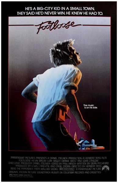 Footloose Kevin Bacon Movie Poster 11x17 Footloose Movie Movies 80s Movies