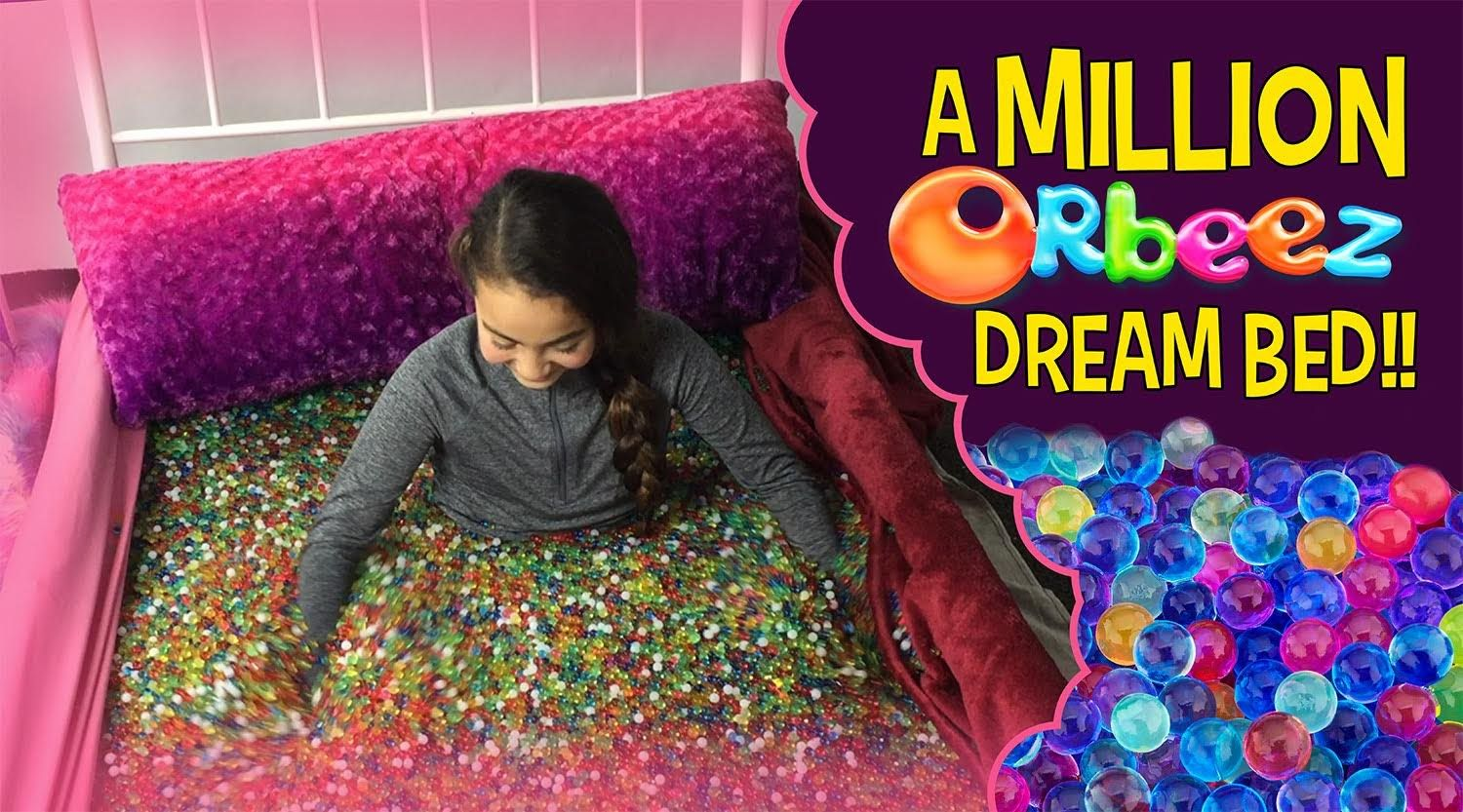 Orbeez Girls In A Million Orbeez Dream Bed Official Orbeez Water Beads Dreams Beds Diy Edible
