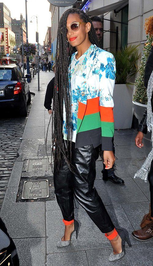 14 Times Solange Made Us Want Long Box Braids #longboxbraids
