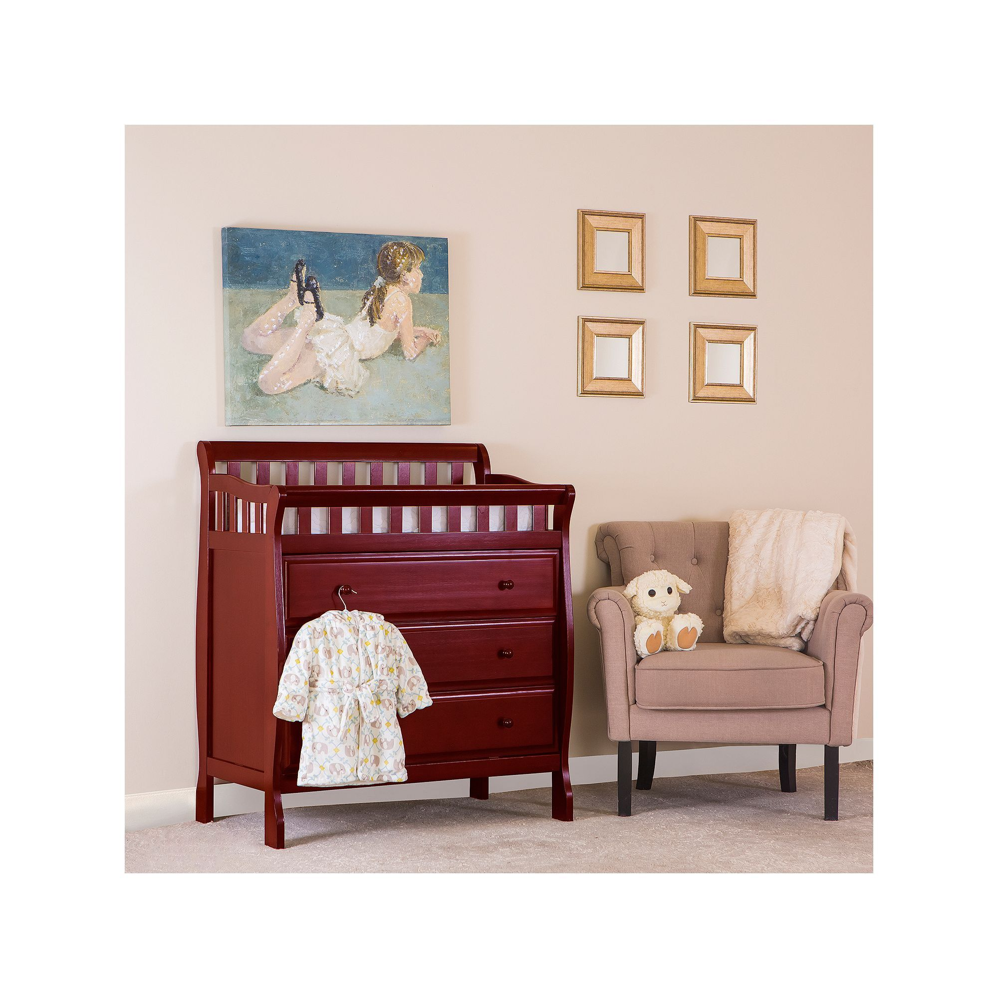 Dream on me marcus changing table and dresser black