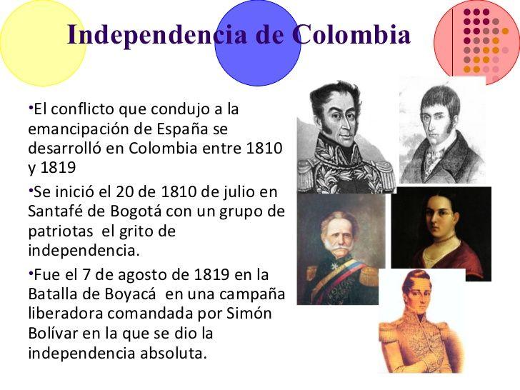Resultado de imagen para 20 de julio independencia de la república ...