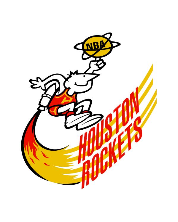 Early 70s Houston Rockets Logo
