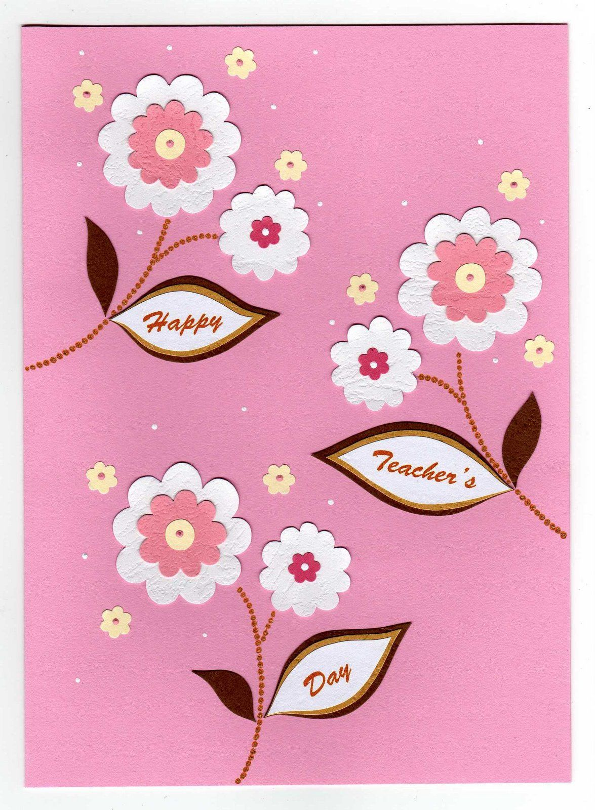 Handmade teachers day cards ts teacher thank you my also pin by  riya on pinterest rh