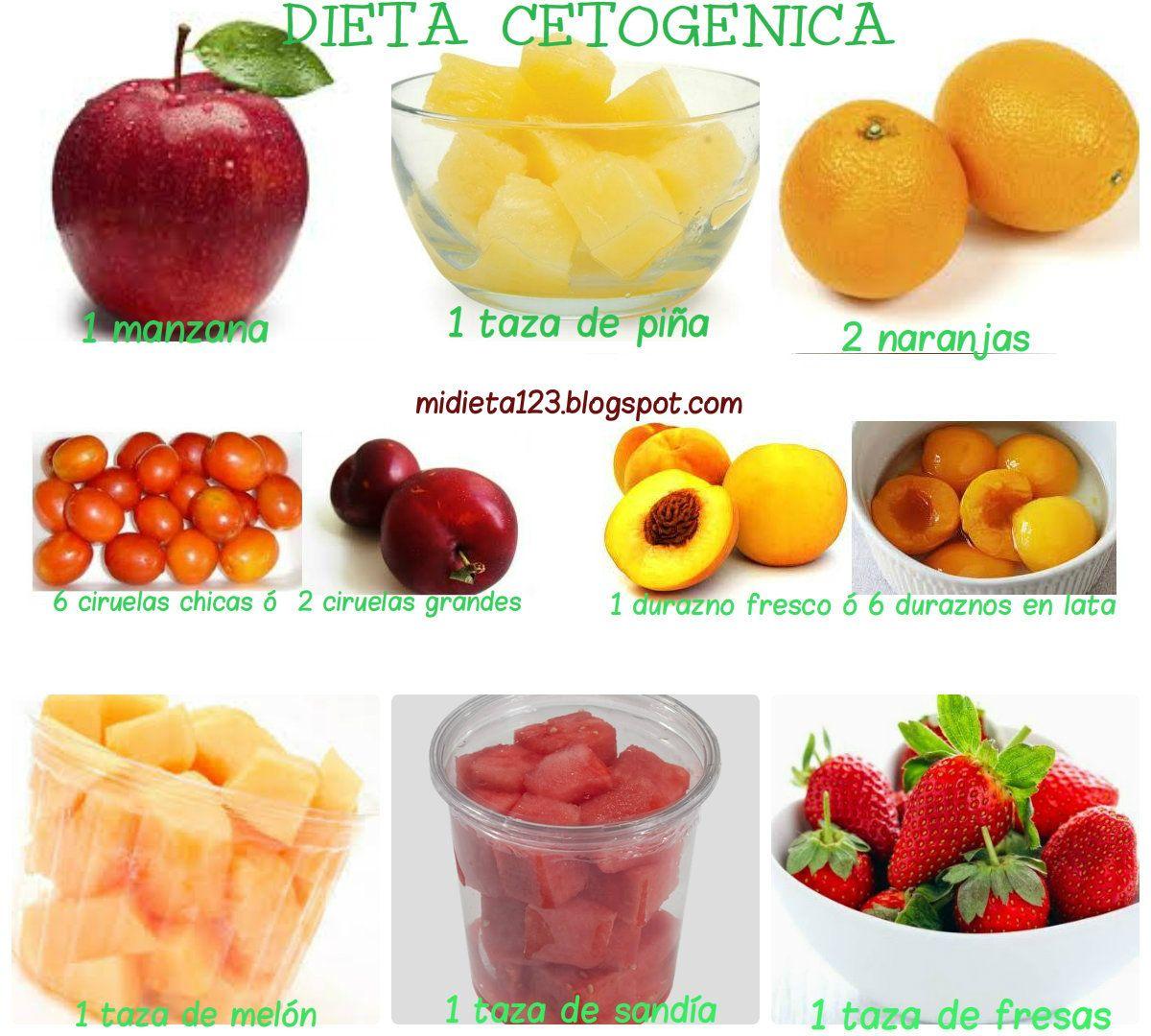 Frutas que no se deben comer en una dieta cetogenica