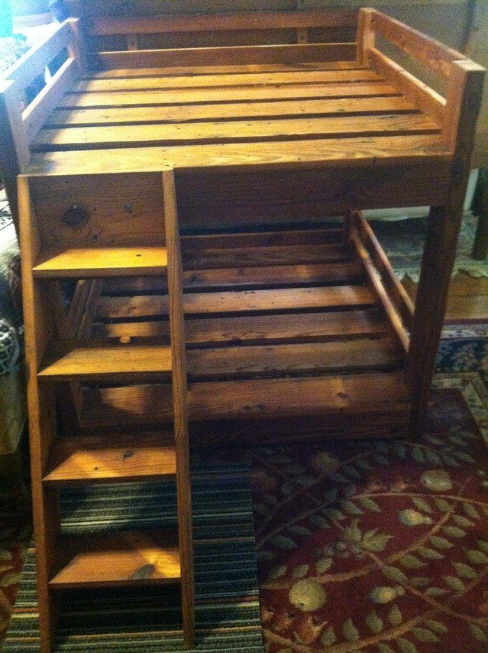 How To Build A Bunk Bed For Your Pets Dog Beds Dog Bunk Beds
