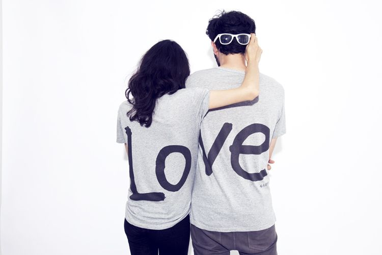 Love Couple S T Shirt By Loft Design By Fringues Mode T Shirt