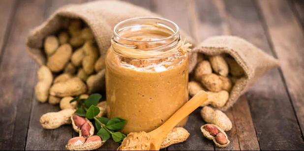 طريقة عمل زبدة الفول السوداني الصحية في المنزل أنتوخة في بيت مسلم Peanut Butter Recipes Peanut Butter Peanut Butter Ingredients