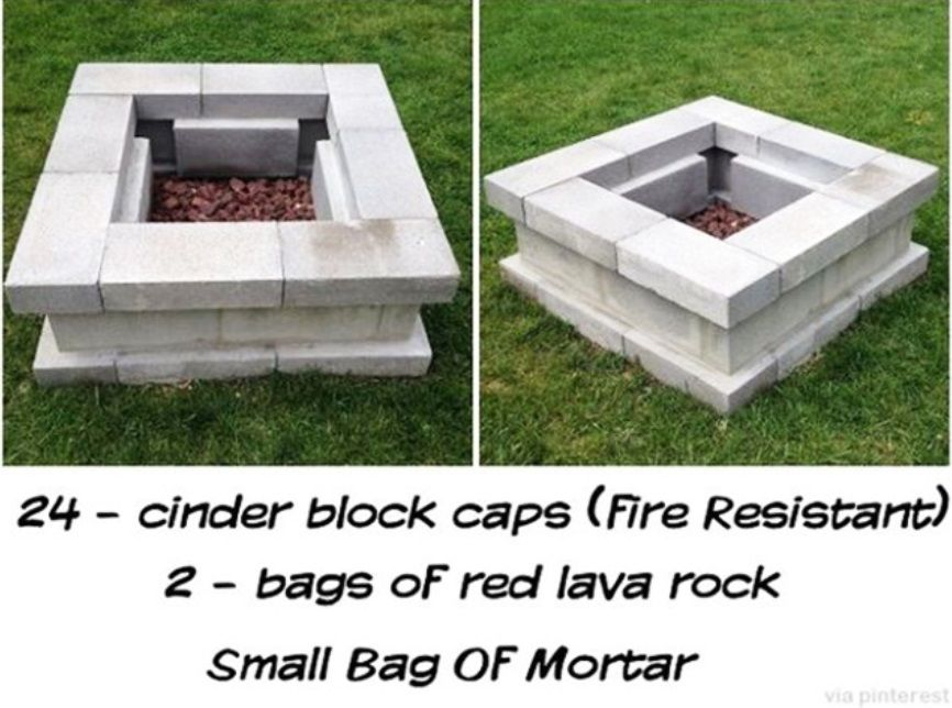 barbecue exterieur fabriquer bloc blanc diy charcoal grill pit pinterest barbecue foyer. Black Bedroom Furniture Sets. Home Design Ideas