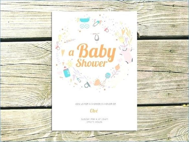 Baby Shower Invitation Card Maker Online Party Ideas Pinterest