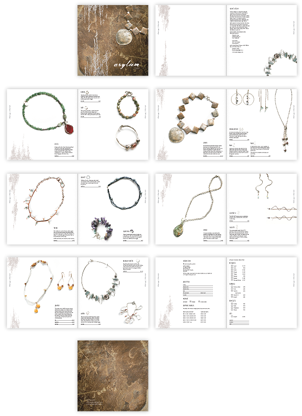 Asylum Jewellery  Catalogue By Megan Seely Via Behance  Catalog
