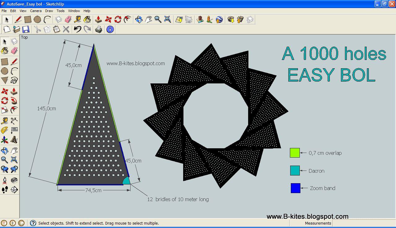 1000 holes plan camera drawing kite how to plan