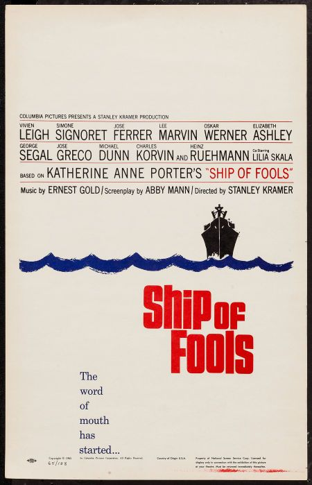 Ship Of Fools 1965 The Fool Movie Posters Columbia Pictures