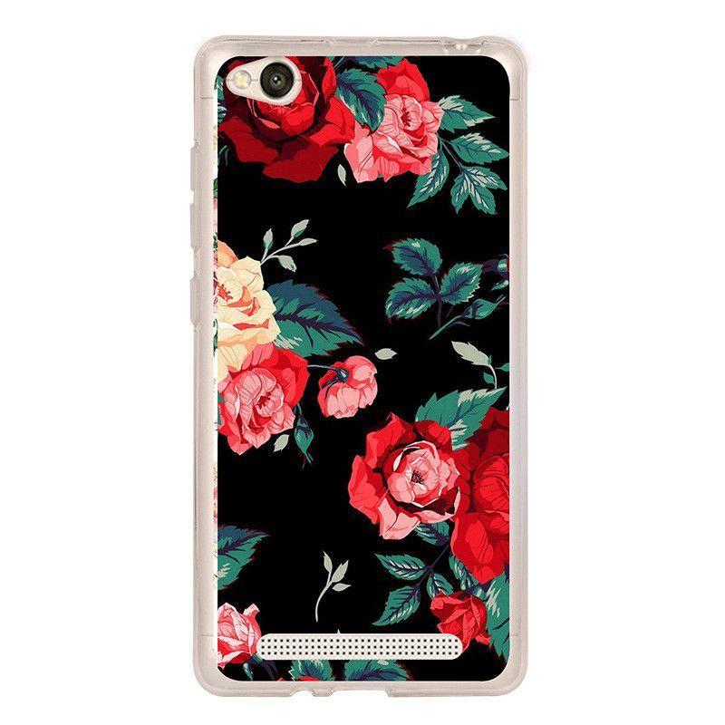 For Xiomi Xiami Redmi 4a Case Silicone Cover For Xiaomi Redmi 4a