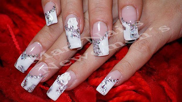 Uñas+novia+-+Bridal+nails+by+MaryNails+-+Nail+Art+Gallery+nailartgallery.nailsmag.com+by+Nails+Magazine+www.nailsmag.com+#nailart