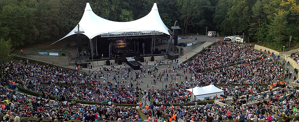 Openair Buhne Waldbuhne Konzerte Buhne Wald
