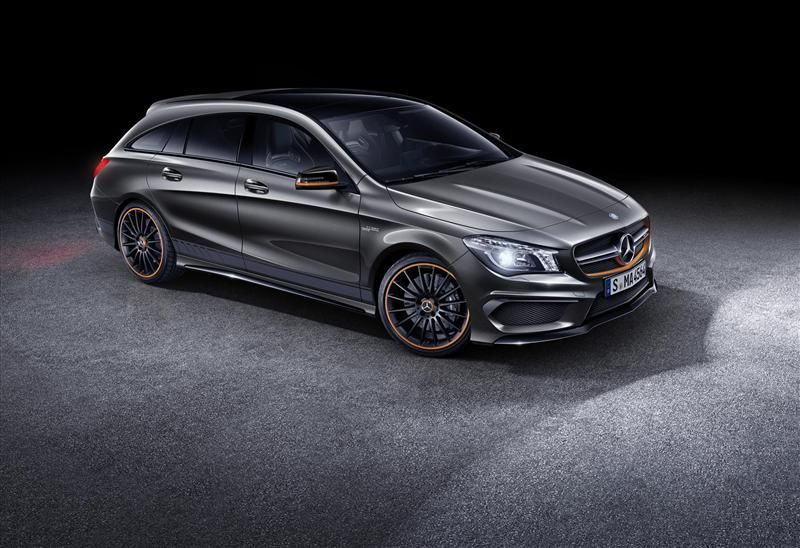 2015 Mercedes Benz Cla 45 Amg Shooting Brake Images Mercedes