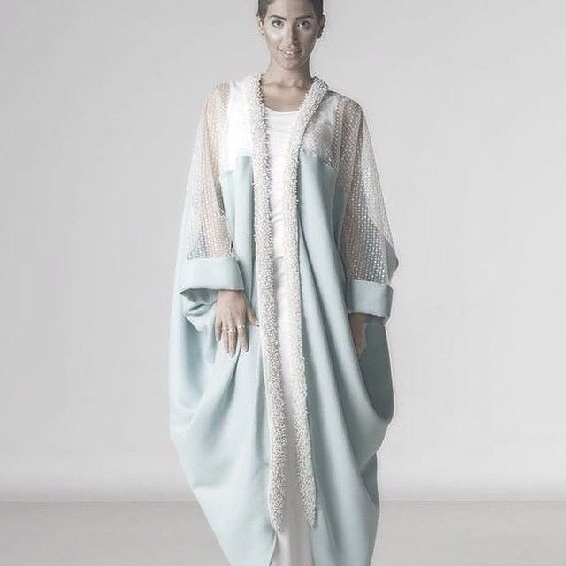 Emerging Fashion Shop On Instagram This Is Beautiful For A Modest Stylish Look Mishaelrajhi Abayeh Modest Babybluesty Abayas Fashion Abaya Fashion Fashion
