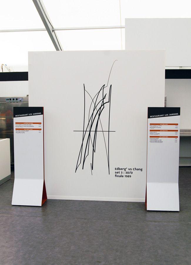 Roland Garros 2011/2012/2013 : POLYGRAPHIK > design, graphisme, typographie