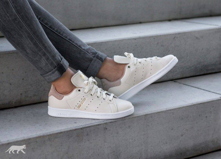 Womens Adidas Stan Smith Trainers Off White Copper
