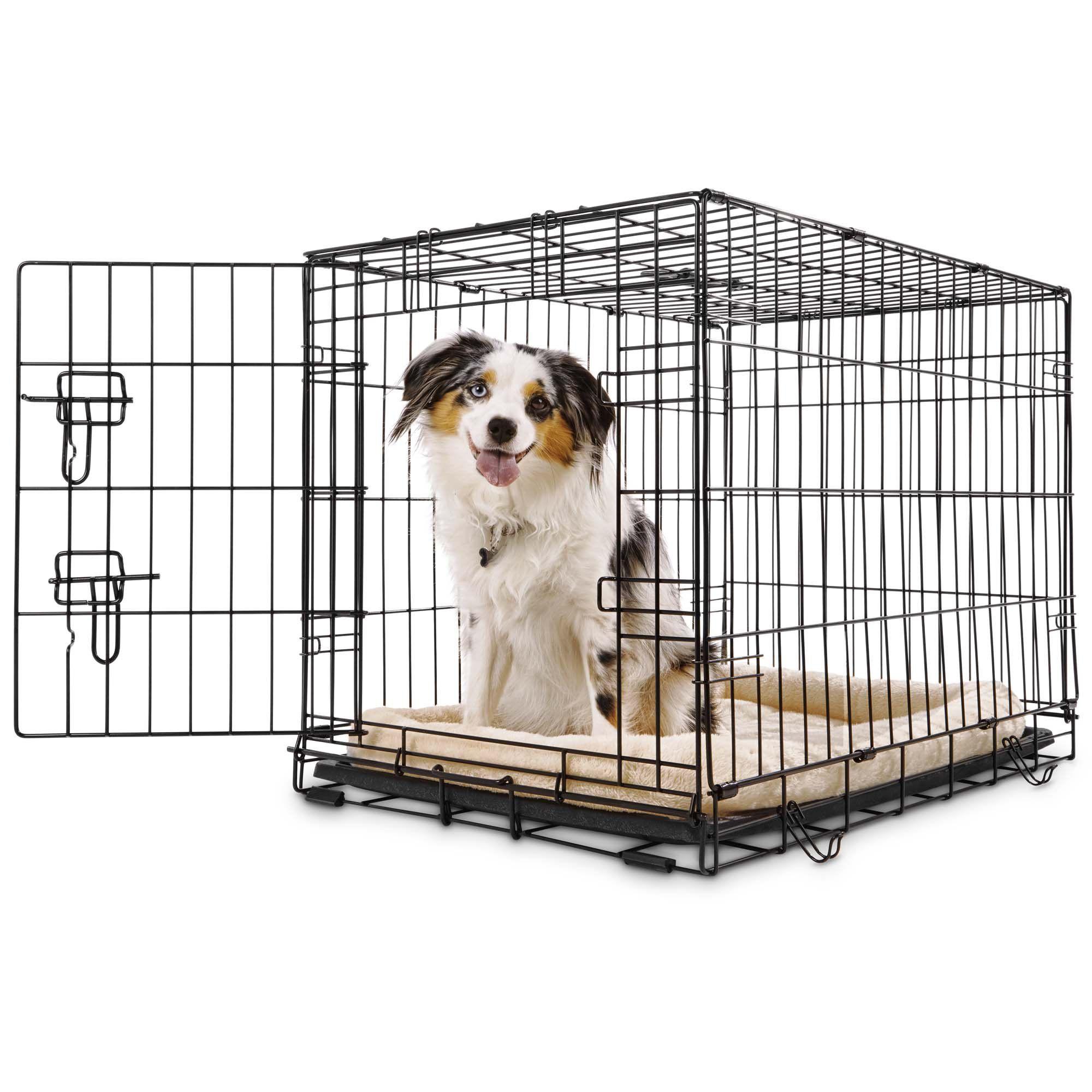 Petco Classic 1 Door Dog Crate 30 L X 19 W X 21 H Medium Large Dog Crate Dog Crate Puppy Safe