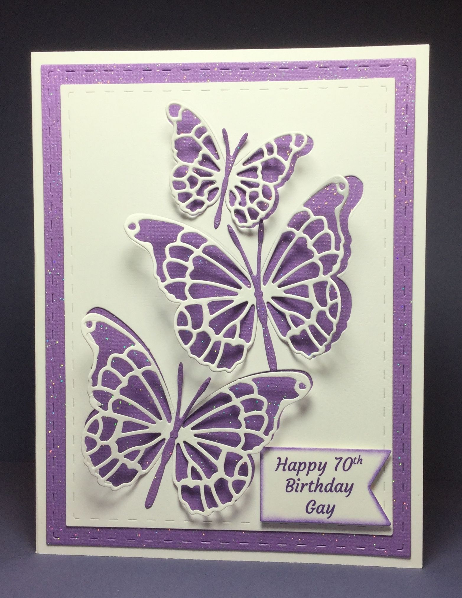 Butterflies Birthday Card By Marci Kay S Kreations Butterfly Birthday Cards Card Making Birthday Stampin Up Birthday Cards