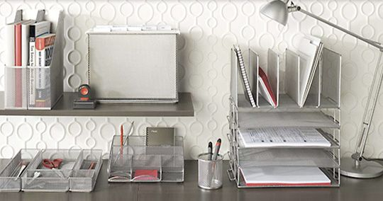 Simply Silver Organized Worke