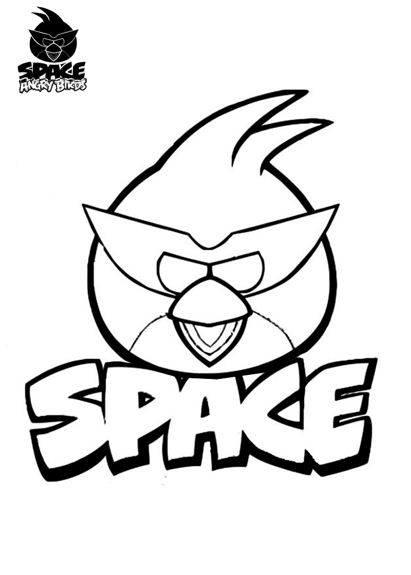 Angry Birds Space Coloring Pages | Coloring pages | Pinterest ...