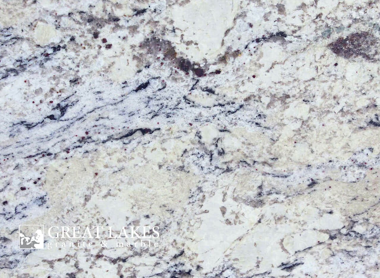 Delicatus White Granite From Brazil Is A White Colored Slab With A Polished Leathered Or Honed Finish Delicatus White Granite Countertops Bathroom Countertops