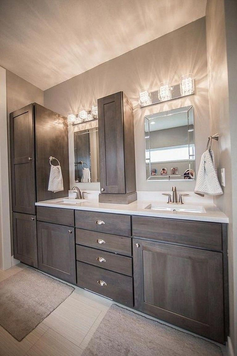 Beau 76+ Inspiring Bathroom Decor Remodel Ideas On A Budget #bathrooms  #bathroomdecor #bathroomdesign #bathroomremodelonabudget