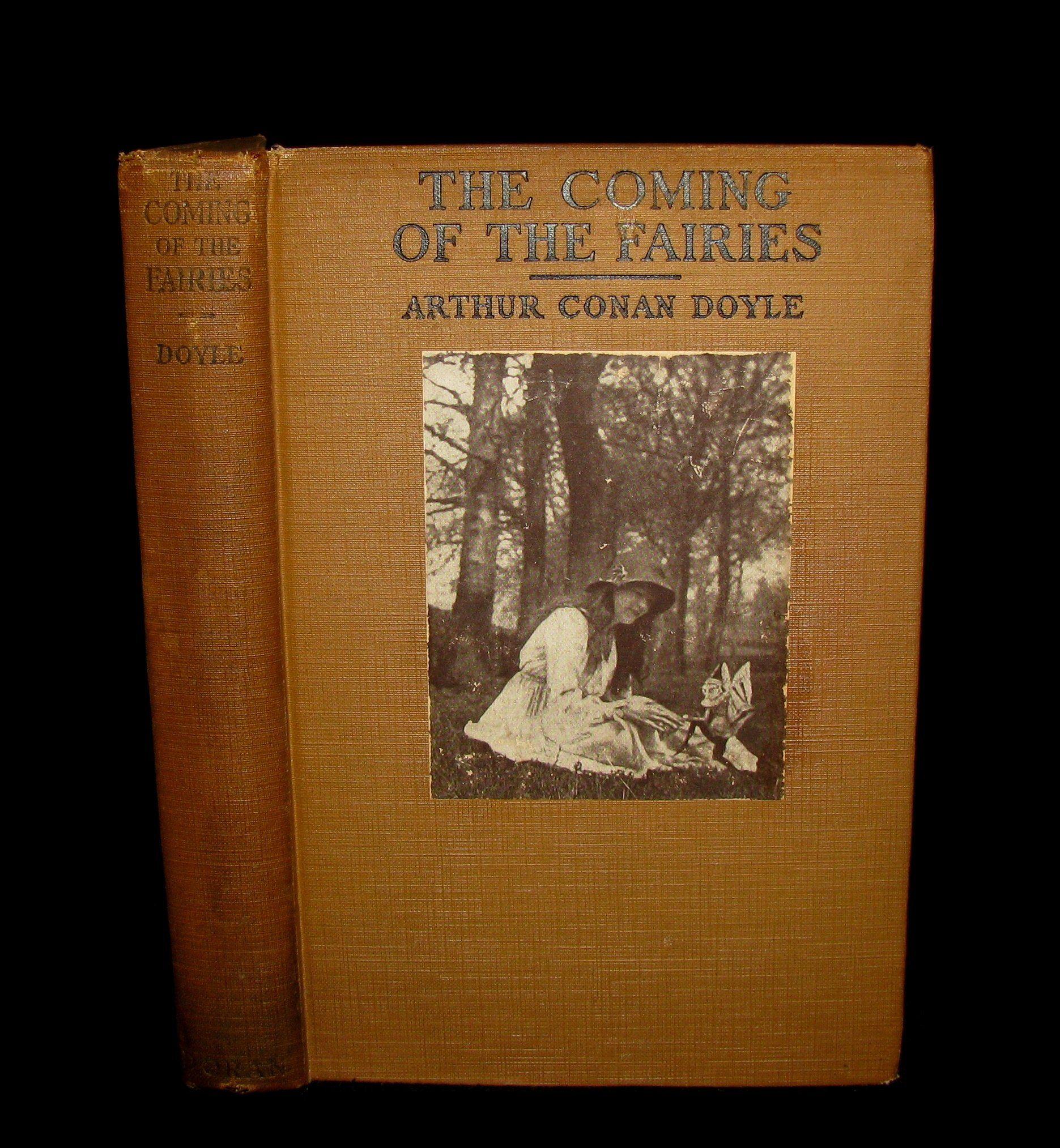 1922 Rare First Edition Cottingley Fairies Arthur Conan Doyle The Coming Of The Fairies Arthur Conan Arthur Conan Doyle Conan Doyle