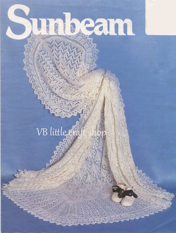 Shetland shawl knitting pattern. Instant PDF download | Patrones de ...