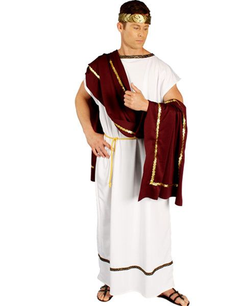 c0cdc7267 Mens Roman Senator Costume. I chose this picture to depict the early Roman  republic era because it shows what the senators in Rome would wear.