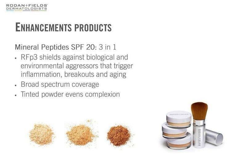 7316b575d8a Rodan and Fields ENHANCEMENTS Mineral Peptides SPF 20 $29 (Mineral ...