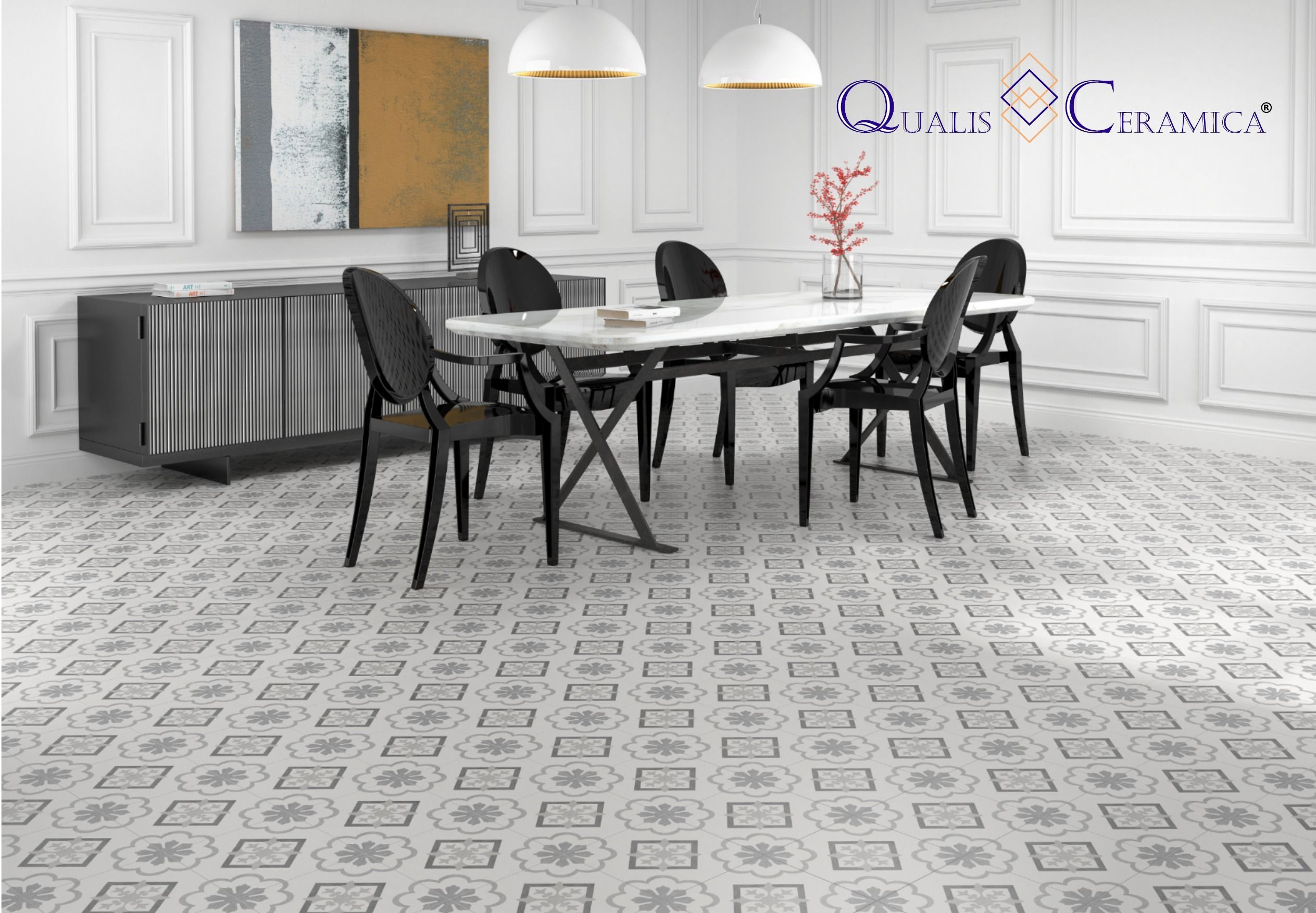 Qualis Ceramica Gibraltar Catalan Gris 10x10 Cement Look Porcelain Tile Floor And Wall Idea Qualis In 2020 Porcelain Floor Tiles Slip Resistant Tiles Tile Design