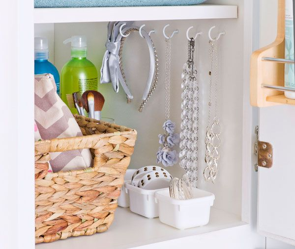Under The Sink Bathroom Cabinet Storage And Organization Small Chic E Saving Solutions From Bliss By Rotator Rod