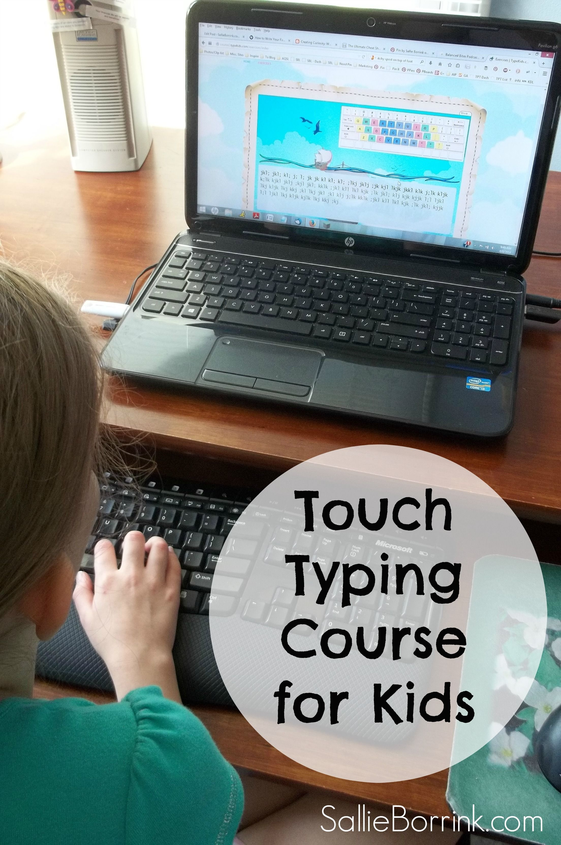 TypeKids Touch Typing Course for Kids