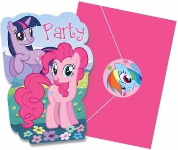8 MY LITTLE PONY Friendship Adventures INVITATIONS ~ Birthday Party Supplies