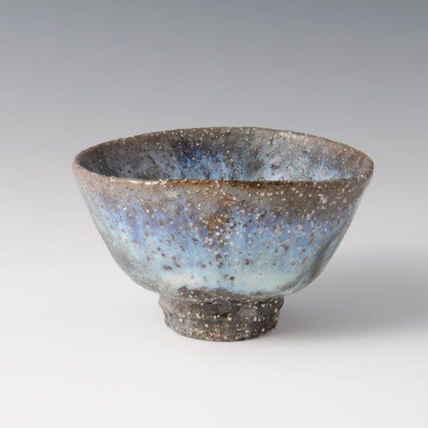 HAGI HAIKABURI CHAWAN  (Hagi Tea Bowl covered with Ash)