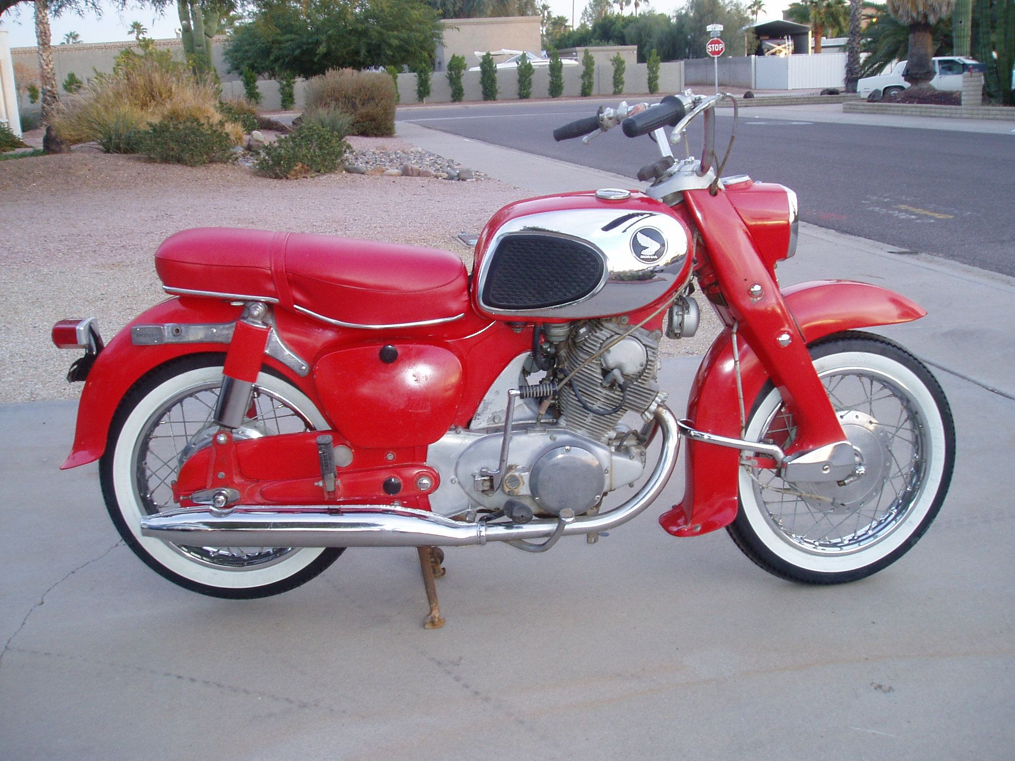 hight resolution of 1969 honda 305 dream